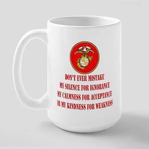 Kindness for Weakness Large Mug