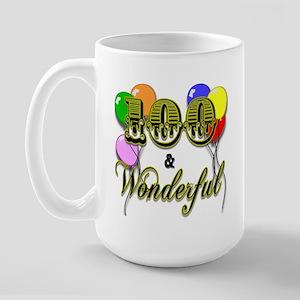 100 and Wonderful Large Mug