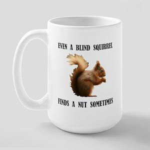 BLIND SQUIRREL Large Mug