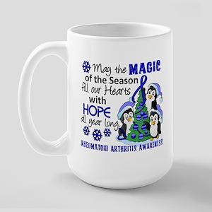 Holiday Penguins RA Large Mug