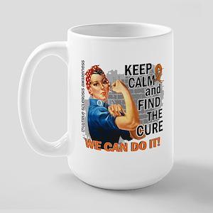 Rosie Keep Calm MS Large Mug
