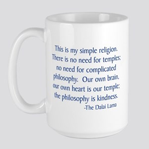 Dalai Lama 12 Large Mug