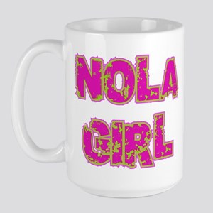 NOLA Girl Large Mug