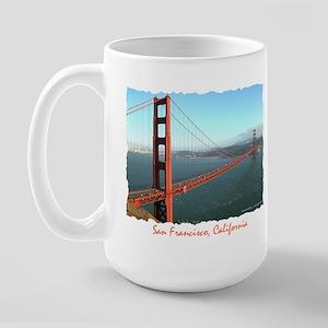 Golden Gate Bridge - Large Mug