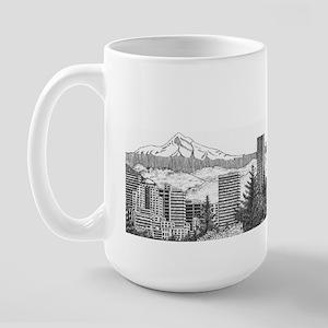 Portland/Mt. Hood Large Mug