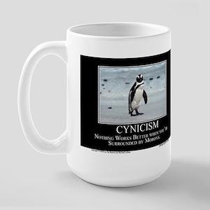 Cynicism Large Mug