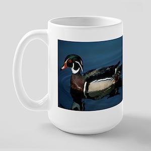 Wood Duck Large Mug