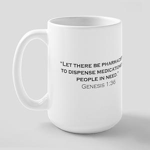 Pharmacists / Genesis Large Mug