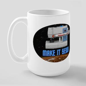 ST: Make It Sew Large Mug