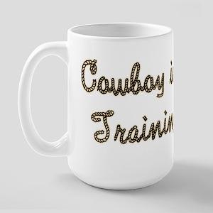 Cowboy in Training Large Mug