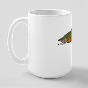 Beaver pond Brook Trout T shirt Large Mug