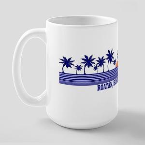 Roatan, Honduras Large Mug