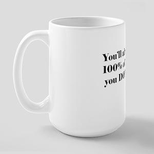 hockey quote Large Mug