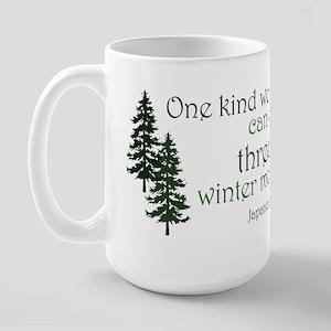Kind Word Large Mug