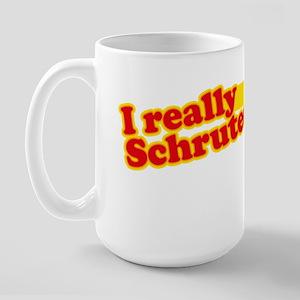 I Really Schruted It Large Mug