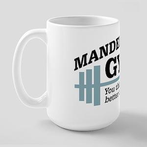 Seinfeld: Mandelbaum's Gym Large Mug