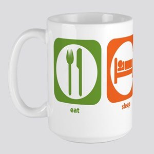Eat Sleep German Board Games Large Mug