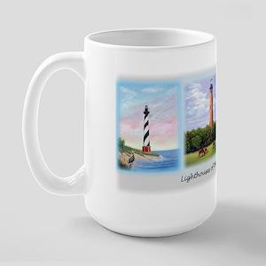 Lighthouses of the Outer Banks Large Mug