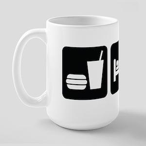 Eat Sleep Drag Large Mug