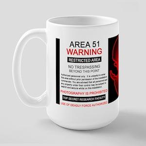 Area 51 Designs Large Mug