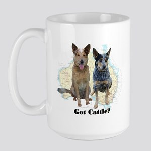 Got Cattle? Large Mug