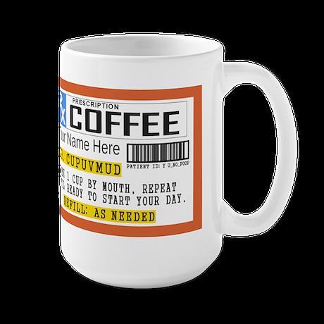 Prescription Coffee Personalized
