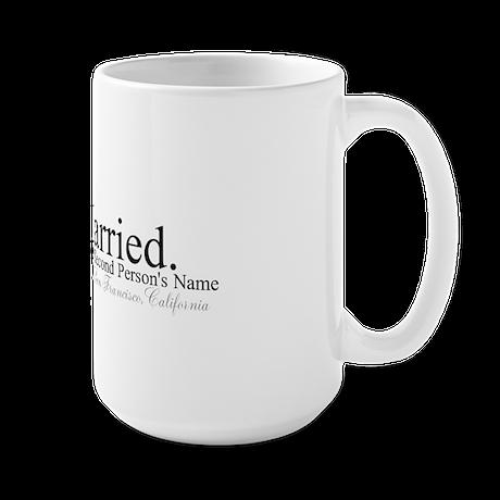 Finally Married Large Mug