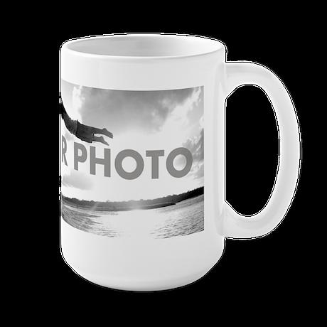 Add Your Own Photo 15 oz Ceramic Large Mug