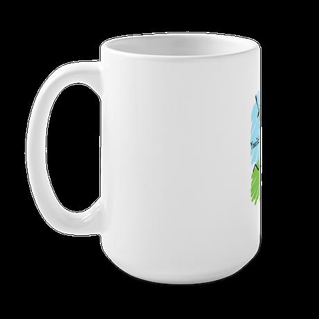 Customize Graduate Runner © Large Mug