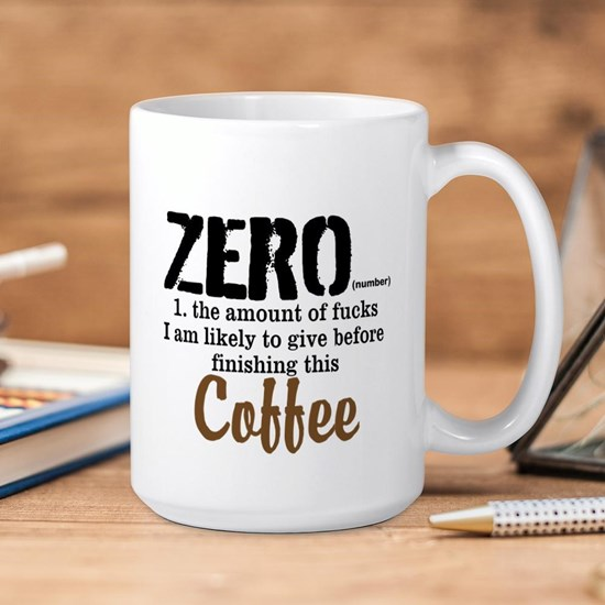 Zero Fucks Before Coffee