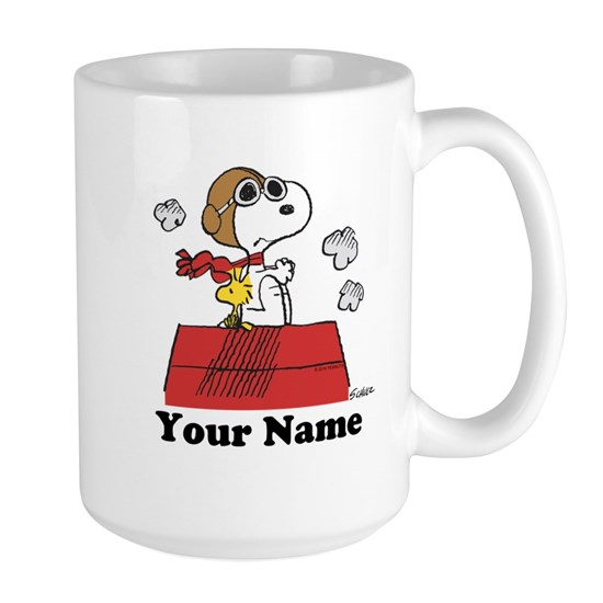 Peanuts Flying Ace Personalized