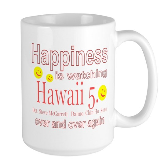 Happiness is watching Hawaii 5.0