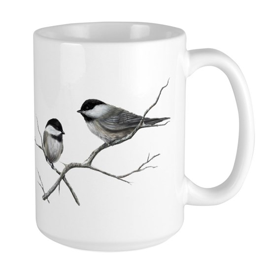 chickadee song bird