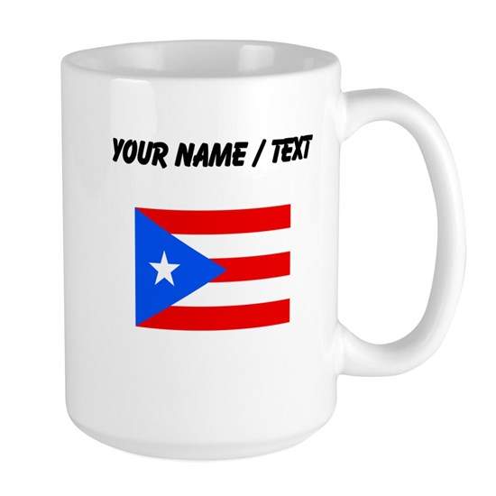Custom Puerto Rico Flag