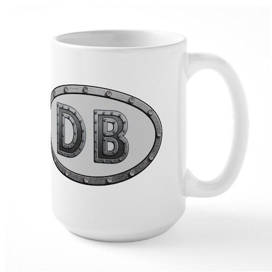 DB Metal 15 oz Ceramic Large Mug DB Metal Large Mug by ...