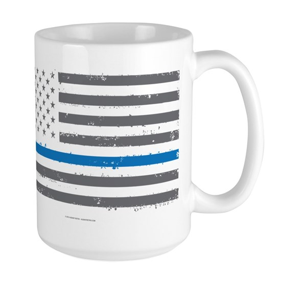 Law Enforcement Blue Line Flag