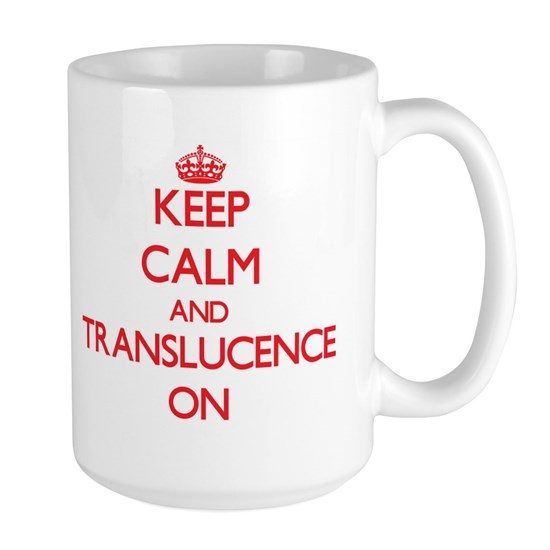 Keep Calm and Translucence ON