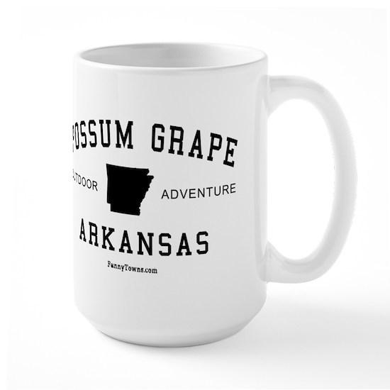 Possum Grape (AR) Arkansas Te Large 15 oz Ceramic Large Mug