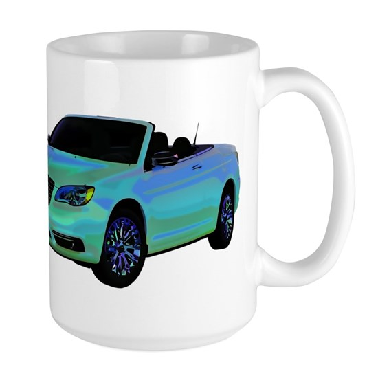 Chrysler 200 Convertible 15 Oz Ceramic Large Mug Chrysler
