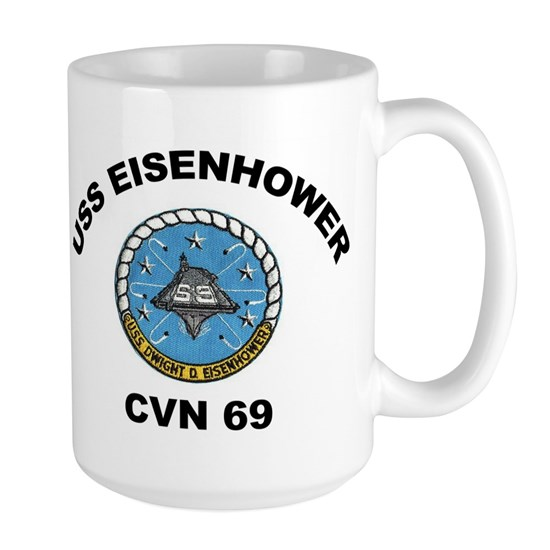 9 x12 CVN 69 EISENHOWER TEXT
