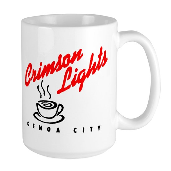 Crimson Lights Mug