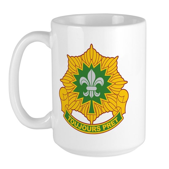 2nd ACR Crest 15 Oz Ceramic Large Mug 2nd Aromred Cavalry