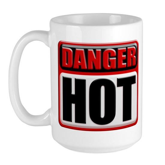 Danger Hot Mug