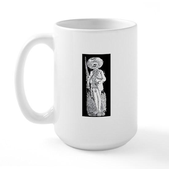 Posinver 15 Oz Ceramic Large Mug Emiliano Zapata Mexican