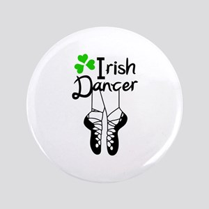 "IRISH DANCER 3.5"" Button"