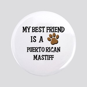 Puerto Rican Dog Large Buttons - CafePress