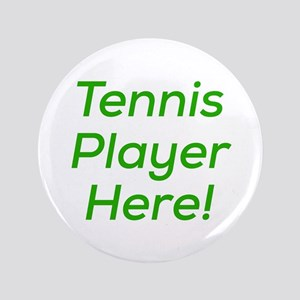 Tennis Player Button