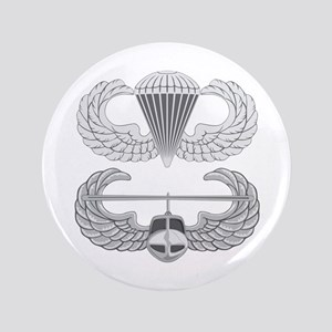 "Airborne and Air Assault 3.5"" Button"