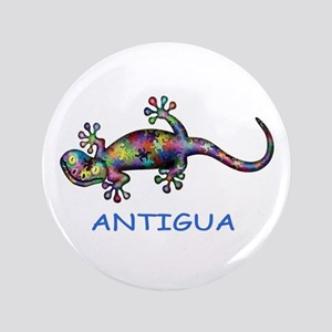 Antigua Gecko Button