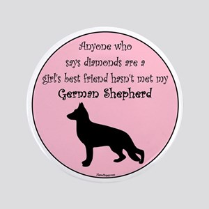 "GBF_German Shepherd 3.5"" Button"